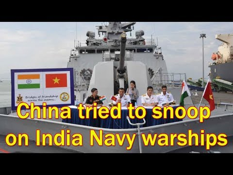 China Spies On Indian Warships As They Leave Vietnam After Naval Exercise