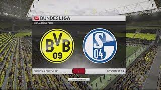 FIFA 16 Bundesliga Prognose | Borussia Dortmund - Schalke 04