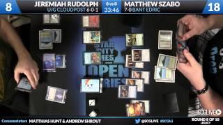 SCGNJ - Legacy - Round 8 - Jeremiah Rudolph vs Matthew Szabo