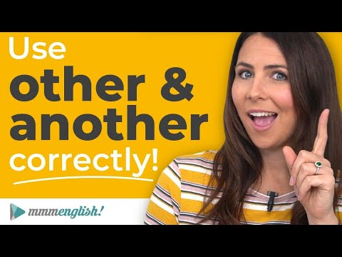 How To Use OTHER & ANOTHER Correctly ?? English Lesson!