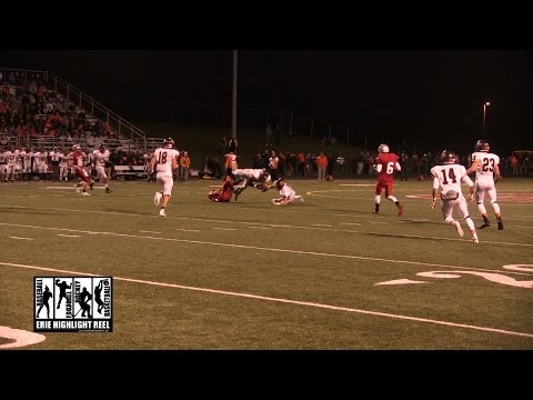 Cathedral Prep General McLane High School Football 2014 Matthew Bauer Interception