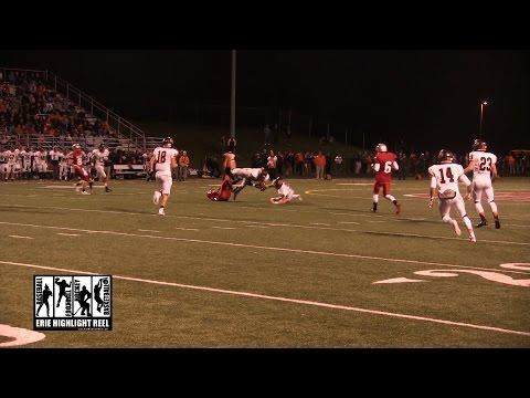 Cathedral Prep General McLane High School Football 2014 Matthew Bauer Interception