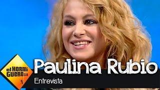 """Paulina Rubio en El Hormiguero 3.0: """"Para que un chico me guste tiene que hacerme reír"""" thumbnail"""