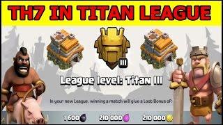 Clan Akun TH 7 Ke Titan Super Sekali Clash of Clans