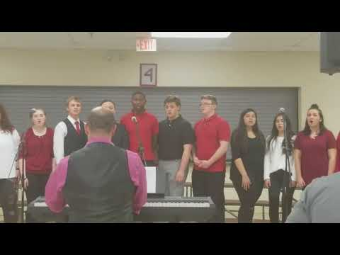 Ooltewah High School Choir Valentine's day banquet-Run To You