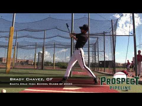 Brady Chavez Prospect Video, OF, Santa Cruz High School Class of 2020