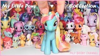 Обзор моей коллекции пони от Хасбро / My Little Pony от Hasbro MLP:FIM  #2