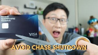 How to Avoid Chase Closing All Your Accounts