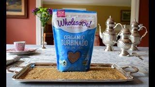 Organic Turbinado Raw Cane Sugar   'Wholesome!'