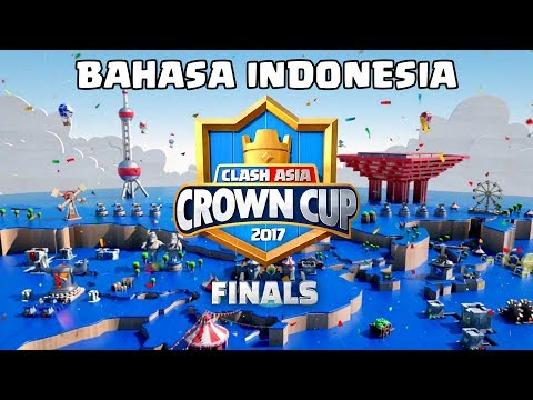 Live Streaming - Clash Asia Crown Cup 2017 Road to Final! (Bahasa Indonesia ver.) - 8/7/2017