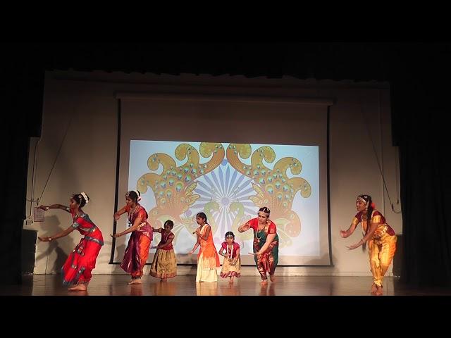 Bharatnatyam group