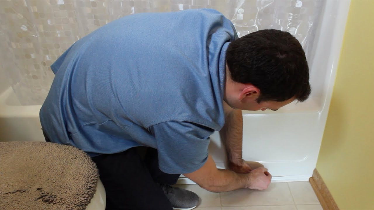 How Long Does Caulking Take To Dry In A Bathroom how to install magic peel & stick caulk