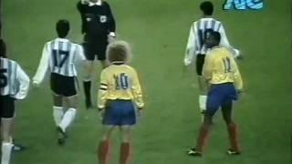 Argentina 0-Colombia 5 para la Copa Mundial de Fútbol 1994; parte 3