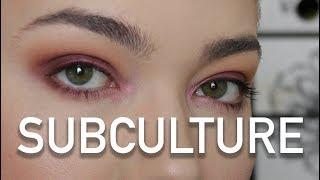 Subculture Palette Tutorial | Burgundy | Michelle Goodspeed