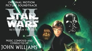 Star Wars Episode VI: Return Of The Jedi (1983) Soundtrack 11 Speeder Bike Chase, Land of the Ewoks