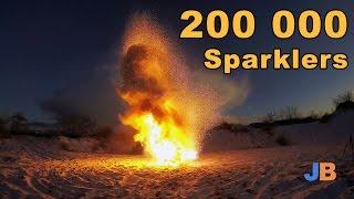 200 000 Sparklers