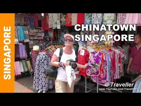 Chinatown in Singapore - incl. Pagoda Street and the Sri Mariamann & Buddha Tooth Relic Temple