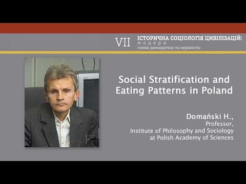 "Domański H. ""Social Stratification and Eating Patterns in Poland"""