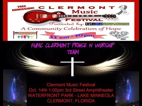 FUMC at Clermont Music Festival Oct  2017