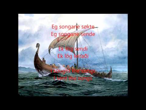 Wardruna - Helvegen Lyrics Nynorsk Norwegian with Old Norse/Norrønt & English Translation