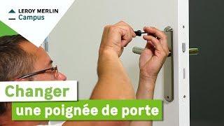 Lm vid os comment poser un verrou ou une serrure - Comment fermer une porte sans serrure ...