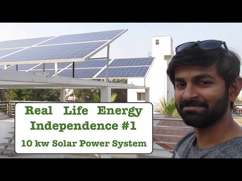 Real Life Energy Independence – 10 kw Solar Power Setup