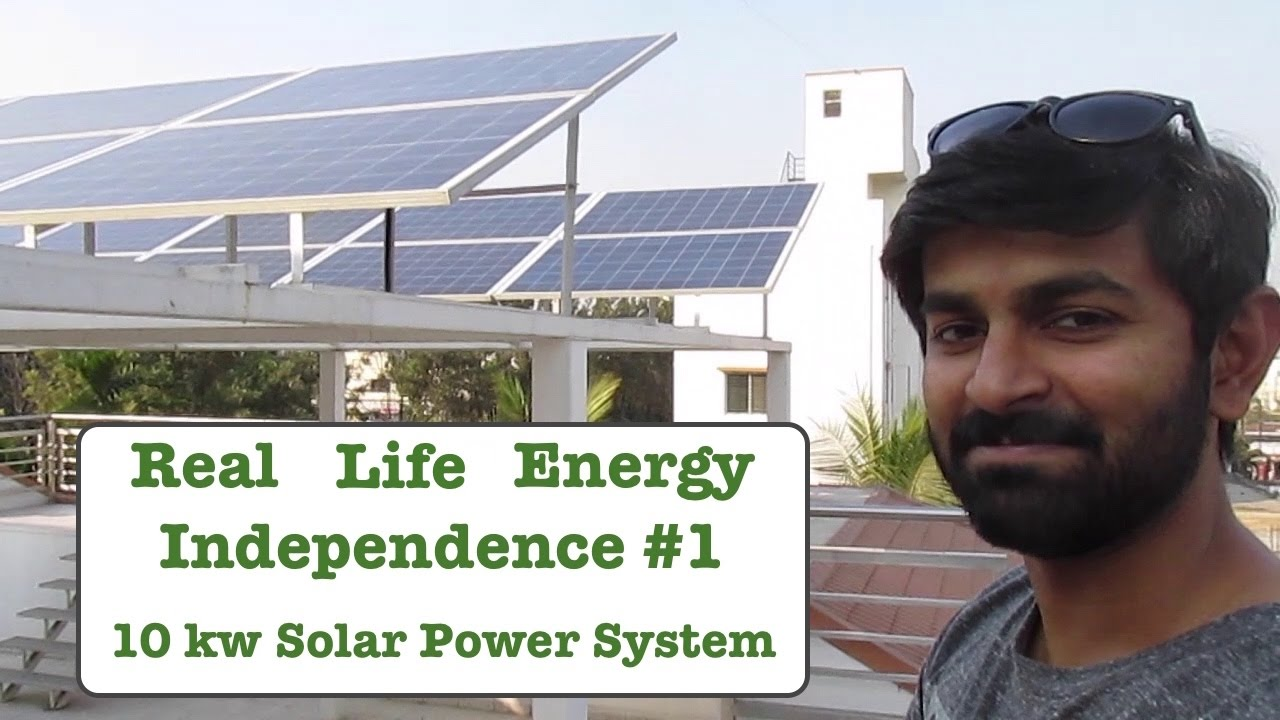 Real Life Energy Independence 10 Kw Solar Power Setup Youtube