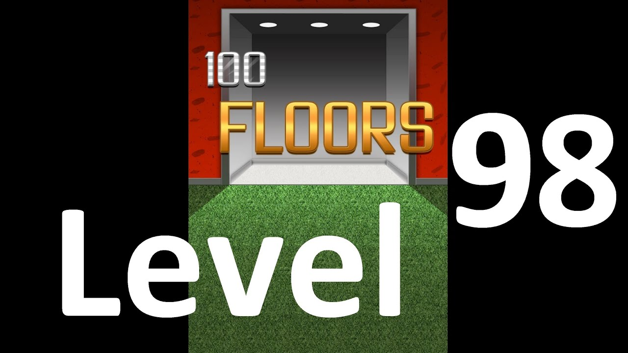 100 Floors Level 98 Floor 98 Solution Walkthrough Youtube