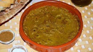 Reteta Bissara - Mancare de mazare uscata - JamilaCuisine