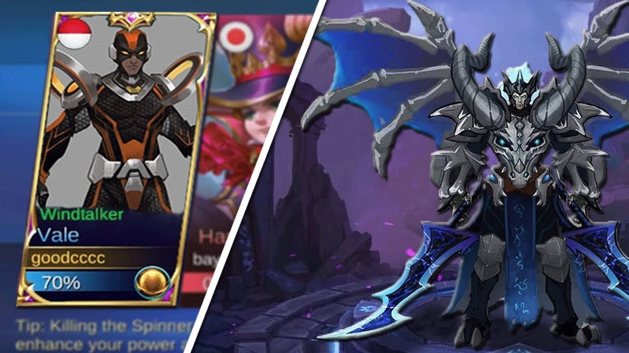 NEW Hero Vale & NEW Legendary Skin Mobile Legends