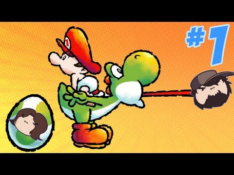 Yoshi's Island - The Best Game Ever - PART 1 - Game Grumps