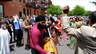 2015 Michigan Indian Wedding Video Highlights HD - Mobile Baraat, Ceremony, Reception - DJ TIGER