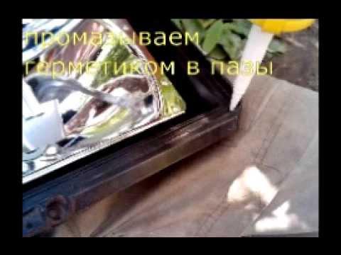 Cмотреть видео онлайн как поменять стекло на фаре ваз 2107