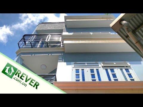 Bán nhà quận 6 dưới 4 tỷ, thiết kế 2 lầu 3 phòng ngủ kiên cố rộng rãi hẻm Lò Gốm | REVER