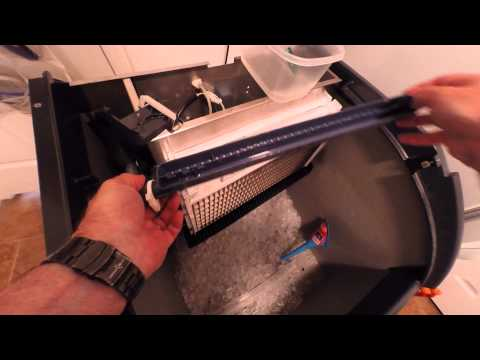 Scotsman CU1526 ice maker descaling, cleaning, and sanitizing