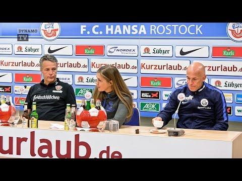 12. Spieltag | FCH - SGD | Pressekonferenz nach dem Spiel