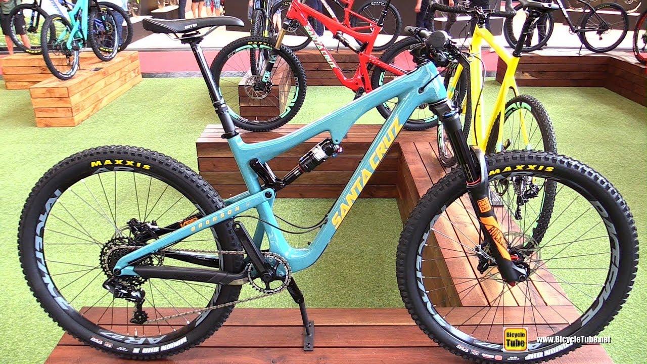Santa Cruz Bronson 2017 >> 2017 Santa Cruz Bronson Carbon C S Mountain Bike Walkaround 2016 Eurobike