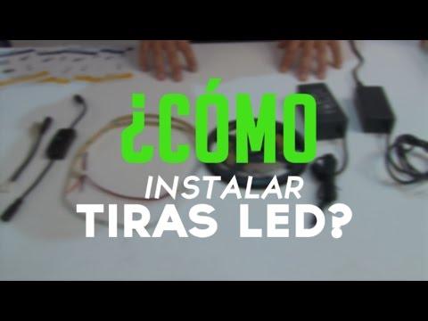 Como cortar y conectar tiras de led doovi for Cortar y empalmar tira led