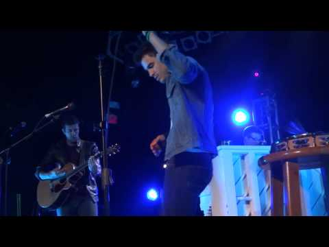 Kris Allen - Paul Simon - The Music Farm, Charleston - 1/19/13