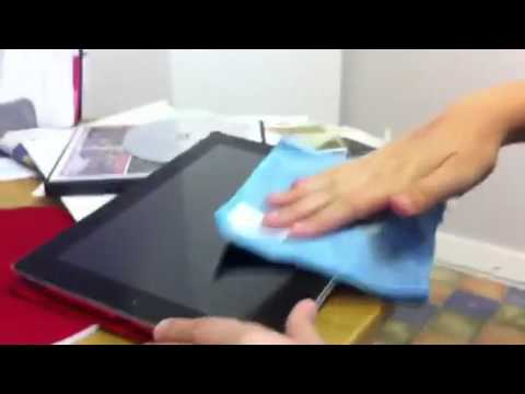 How to clean your iPad screen!!!