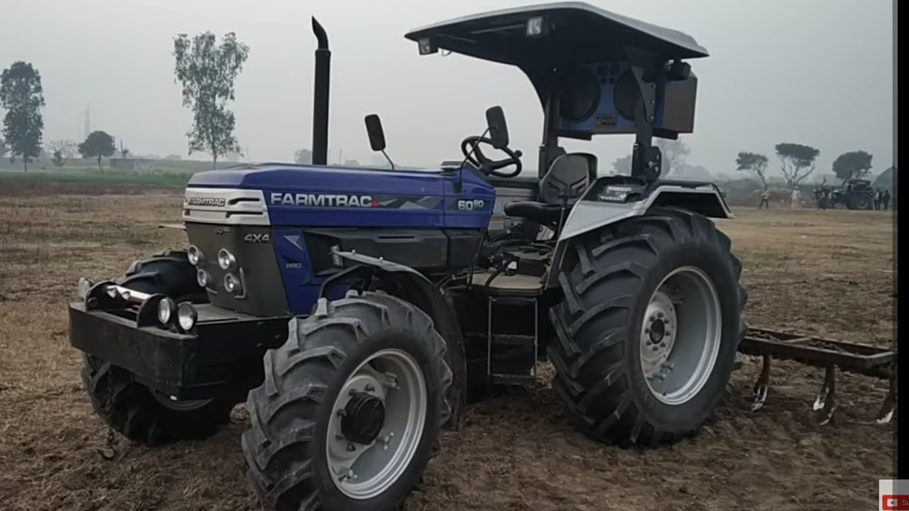 farmtrac 6080 4x4 full specifications 80 HP ka tractor dekho