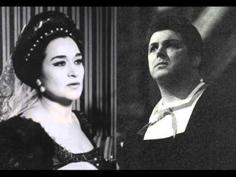 Leyla Gencer - Gianni Raimondi - Tutto apprendi o sventurato - Guglielmo Tell - Rossini - 1965