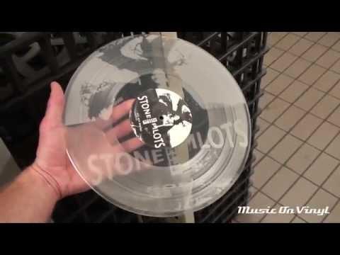 Stone Temple Pilots - Core transparent vinyl pressing