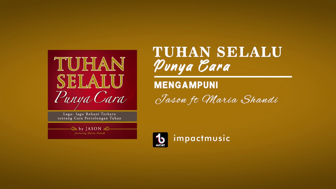 mengampuni maria shandi feat jason irwan official audio