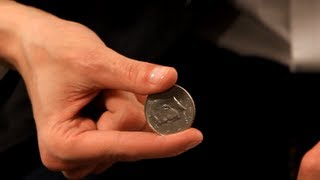 How to Do the Pinch Coin Vanish | Coin Tricks