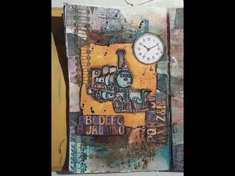 Art Journal pagina - Industrial 2.0
