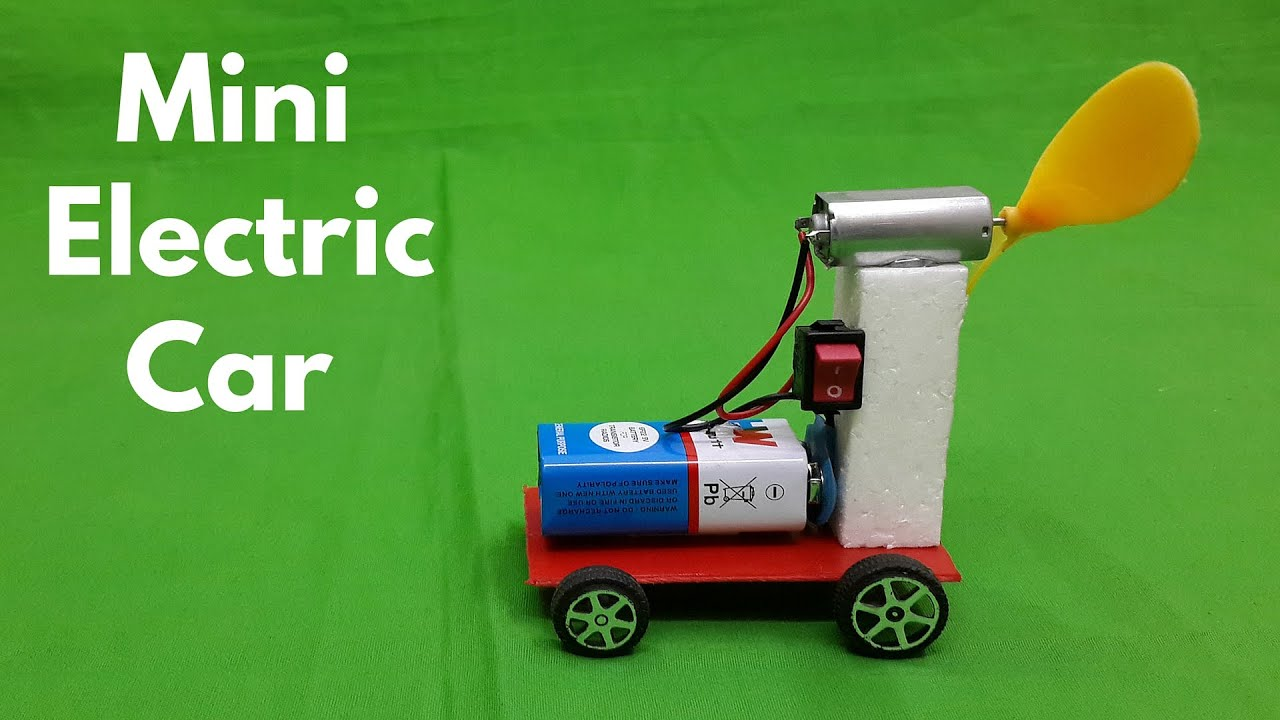 How to make air powered electric car jet car youtube for Model best out of waste