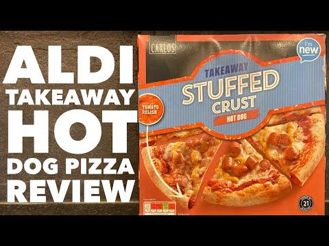 Aldi Carlos Takeaway Stuffed Crust Hot Dog Pizza Review
