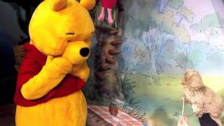 Uncle Teddy puppet Meet & Greet with Winnie the Pooh @ Walt Disney World