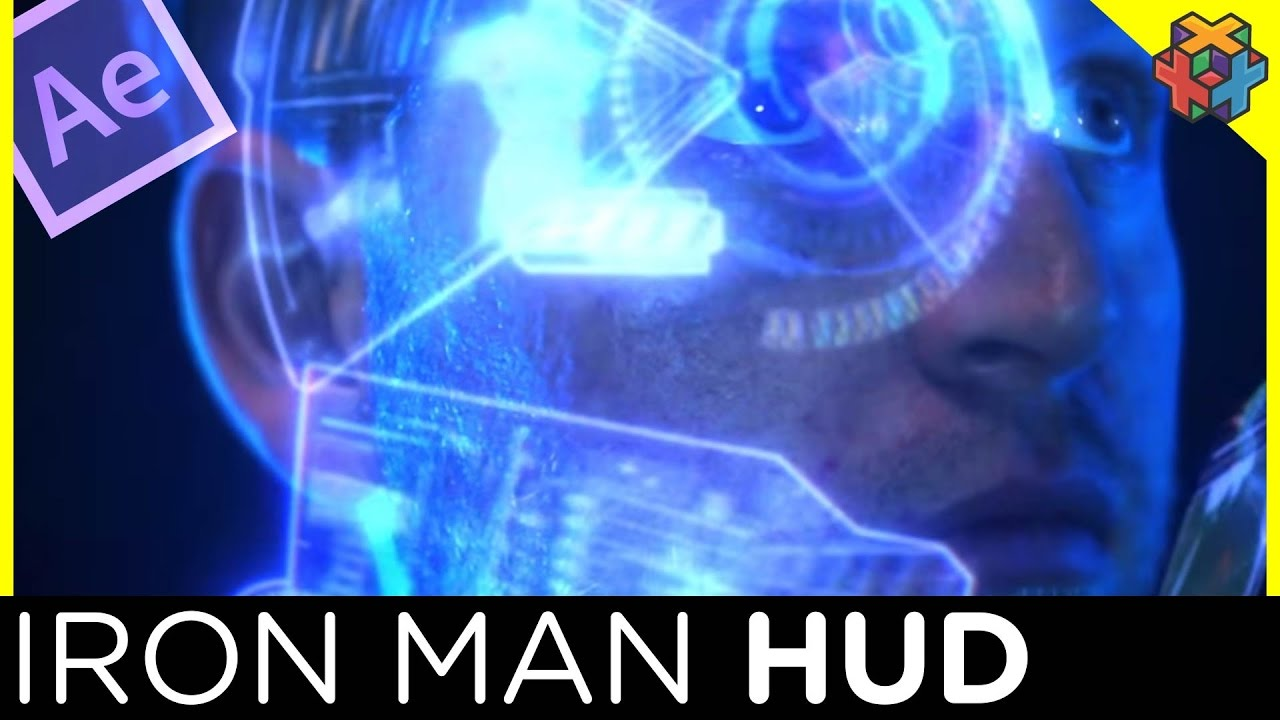 Iron Man Styled HUD - After Effects and FootageCrate Tutorial